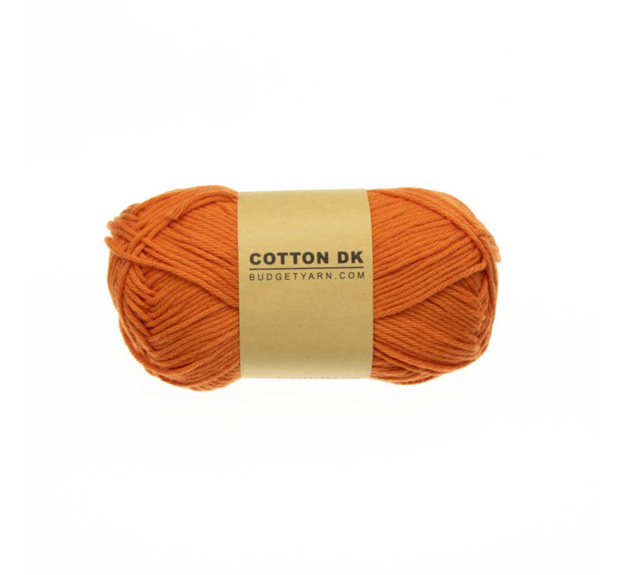 Budget Yarn Cotton DK 021 Orange