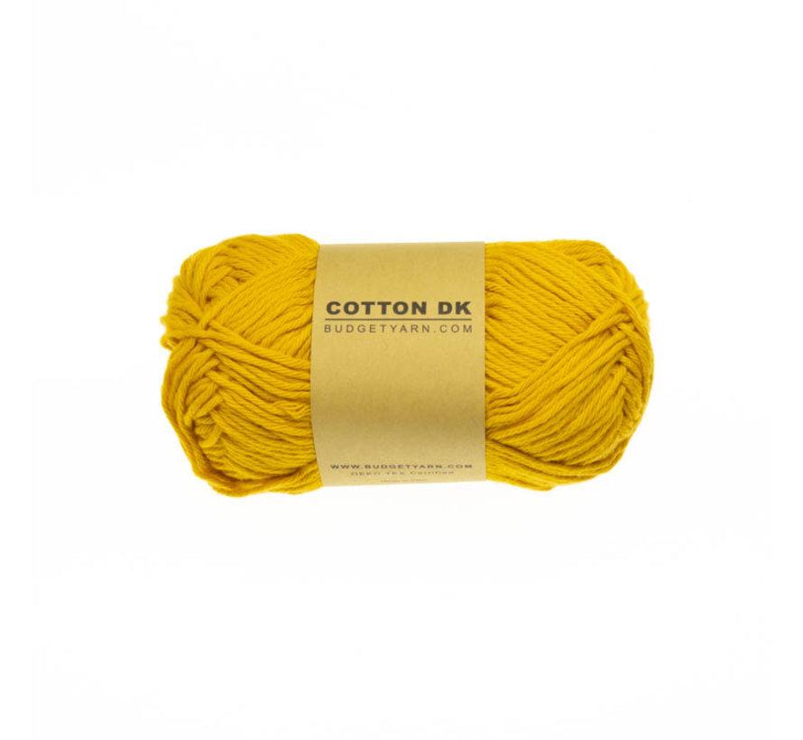 Budget Yarn Cotton DK 015 Mustard