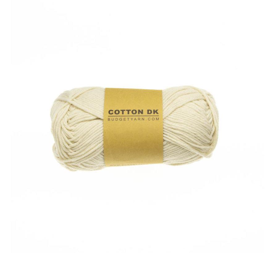 Budget Yarn Cotton DK 003 Ecru