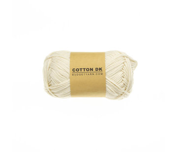 Budget Yarn Budget Yarn Cotton DK 002 Cream