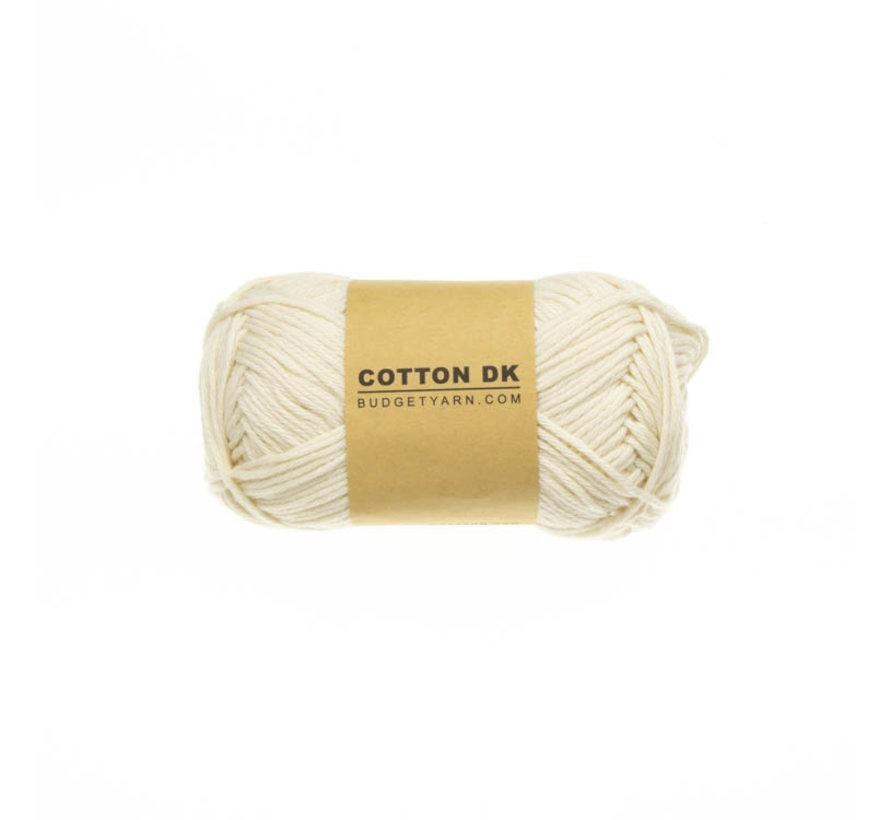Budget Yarn Cotton DK 002 Cream