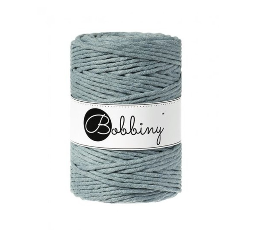 Bobbiny Macramé cord 5mm RAW Denim