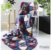 Scheepjes Royal Garden Crochet Blanket desiged by Janie Crow