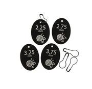 Marlaine Needle Tag voor Breien maat 2,25 - 2,75 - 3,25 - 3,75 - 2 stuks per maat