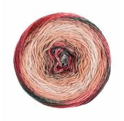 Lana Grossa Gomitolo Finito 553 Kleur: Roze-Lichtroze-Donkergroen-Bramen