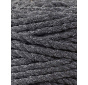 Bobbiny Bobbiny Macramé Triple Twist 5mm Charcoal