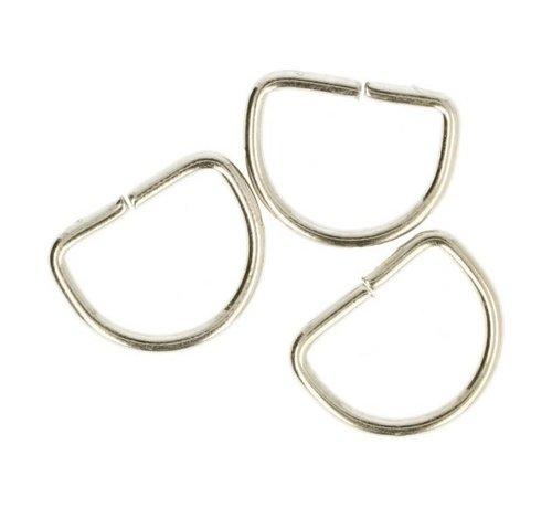 Huismerk D-ringen 20mm - 2 stuks
