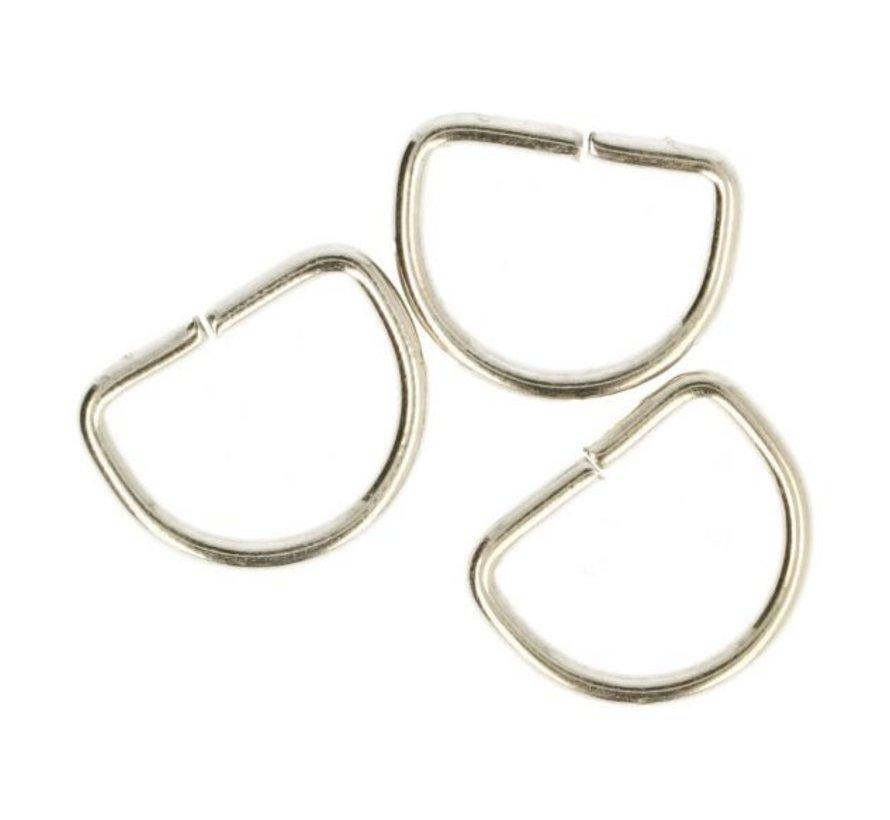 D-ringen 20mm - 2 stuks