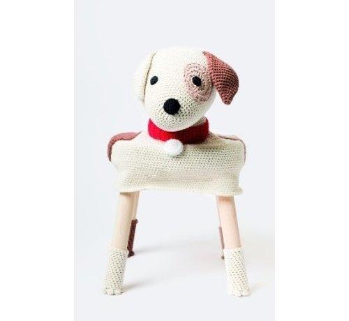 Rico Design Haakpakket Dierenkrukje Hond