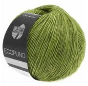 Lana Grossa Ecopuno 002 Kleur: Appelgroen
