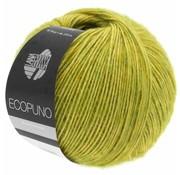 Lana Grossa Ecopuno 003 Kleur: Geelgroen
