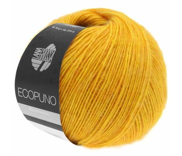 Lana Grossa Ecopuno 004 Kleur: Geel