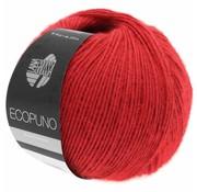 Lana Grossa Ecopuno 006 Kleur: Rood