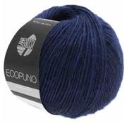 Lana Grossa Ecopuno 010 Kleur: Marine