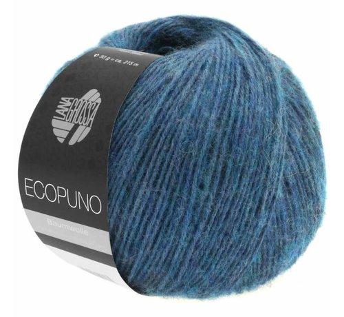 Lana Grossa Ecopuno 011 Kleur: Saffier blauw