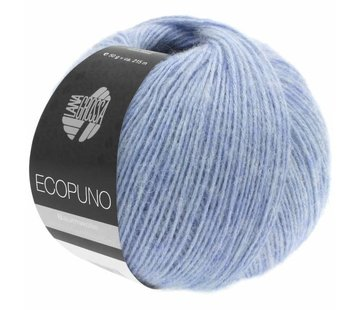 Lana Grossa Ecopuno 013 Kleur: Lichtblauw