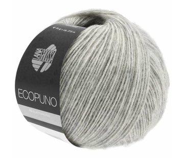 Lana Grossa Ecopuno 014 Kleur: Lichtgrijs