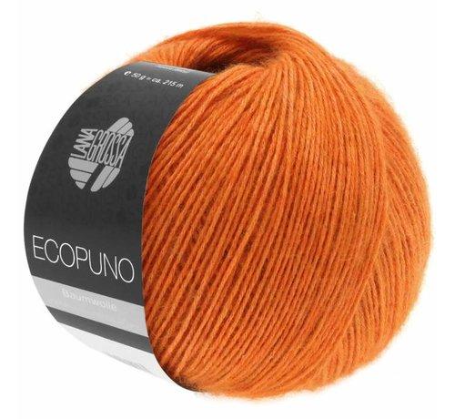 Lana Grossa Ecopuno 005 Kleur: Jaffa oranje