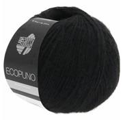 Lana Grossa Ecopuno 016 Kleur: Zwart