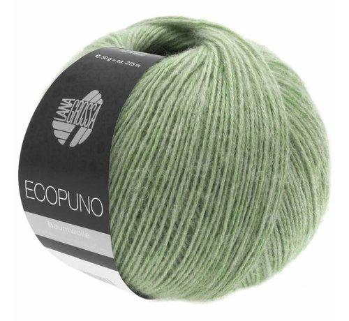 Lana Grossa Ecopuno 020 Kleur: Lichtgroen