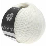 Lana Grossa Ecopuno 026 Kleur: Wit