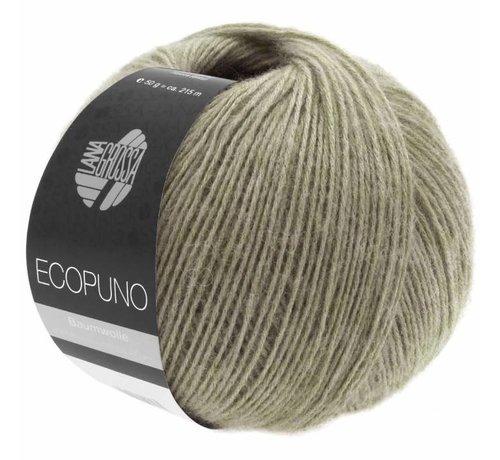 Lana Grossa Ecopuno 027 Kleur: Khaki