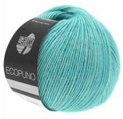 Lana Grossa Ecopuno 028 Kleur: Turquoise