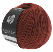 Lana Grossa Ecopuno 031 Kleur: Bruin rood