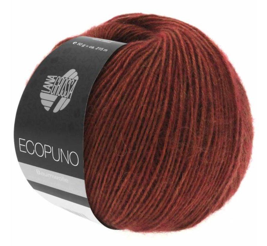 Ecopuno 031 Kleur: Bruin rood