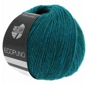 Lana Grossa Ecopuno 037 Kleur: Donkerpetrol