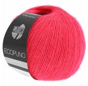 Lana Grossa Ecopuno 036 Kleur: Framboos