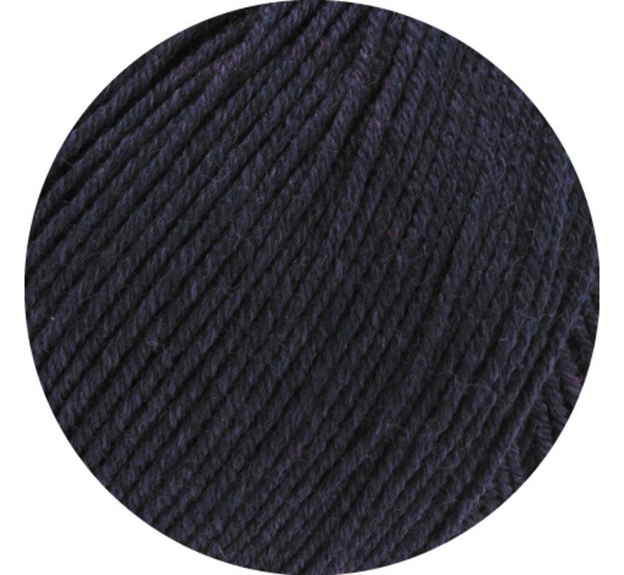 Cool Wool Melange GOTS 0102 Kleur: Aubergine gevlekt