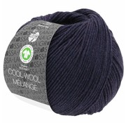 Lana Grossa Cool Wool Melange GOTS 0102 Kleur: Aubergine gevlekt
