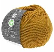 Lana Grossa Cool Wool Melange GOTS 0114 Kleur: Amber gevlekt