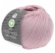 Lana Grossa Cool Wool Melange GOTS 0117 Kleur: Lila roze gevlekt