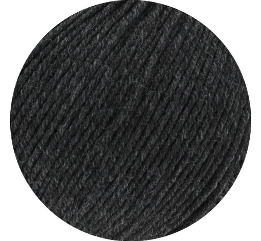 Cool Wool Melange GOTS 0120 Kleur: Antraciet gevlekt
