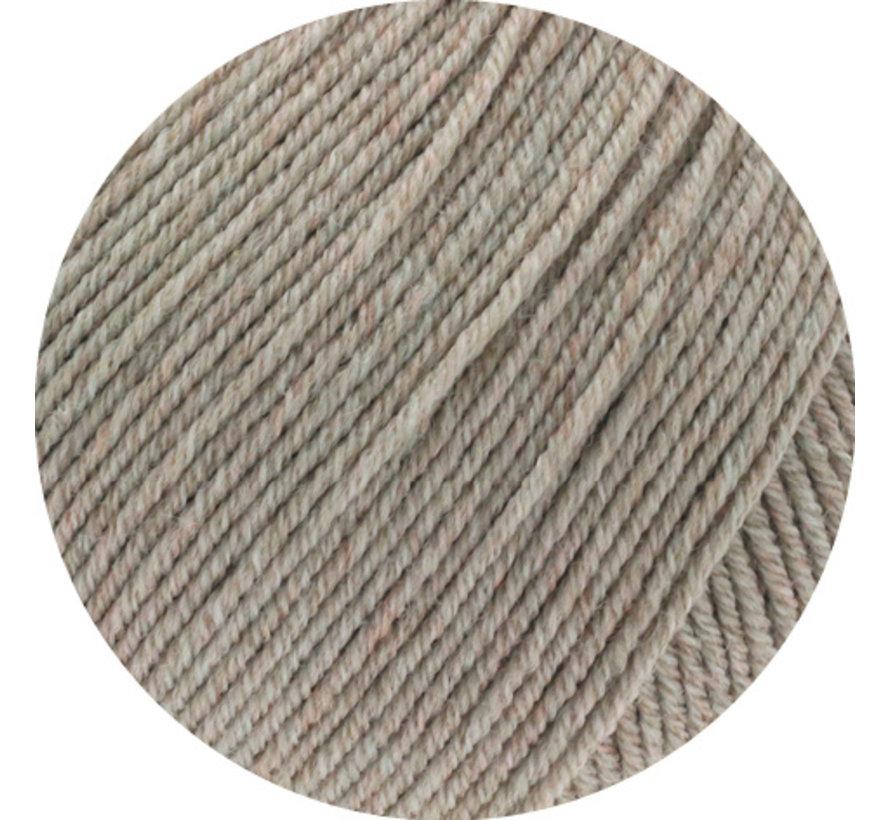 Cool Wool Melange GOTS 0123 Kleur: Beige gevlekt