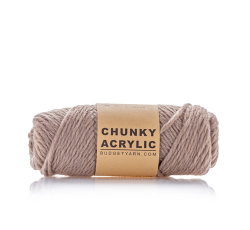 Budget Yarn Budget Yarn Chunky Acrylic 005 Kleur: Clay