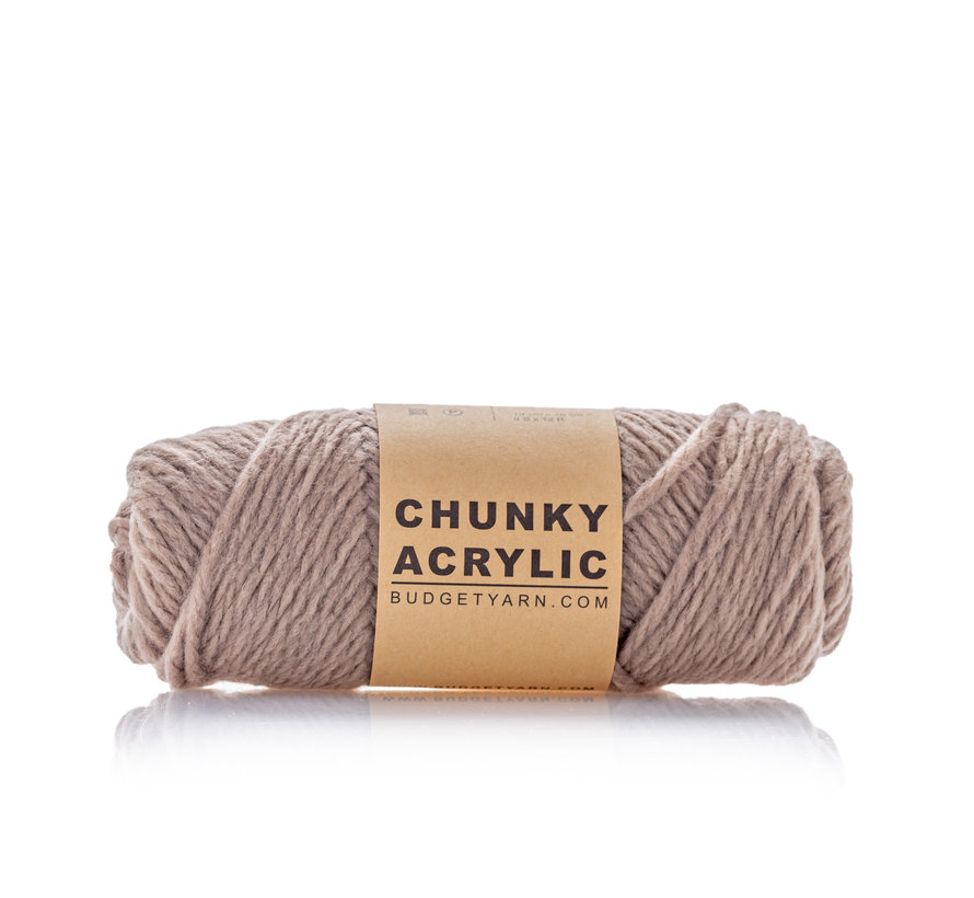 Budget Yarn Chunky Acrylic 005 Kleur: Clay