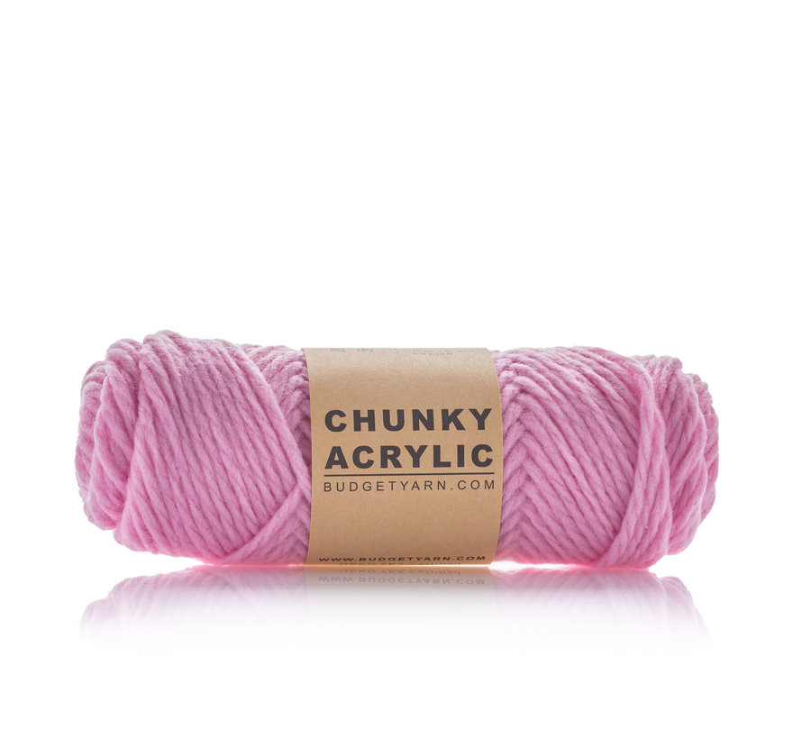 Budget Yarn Chunky Acrylic 037 Kleur: Cotton Candy