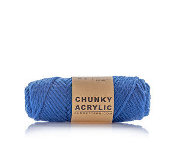 Budget Yarn Budget Yarn Chunky Acrylic 060 Kleur: Navy Blue