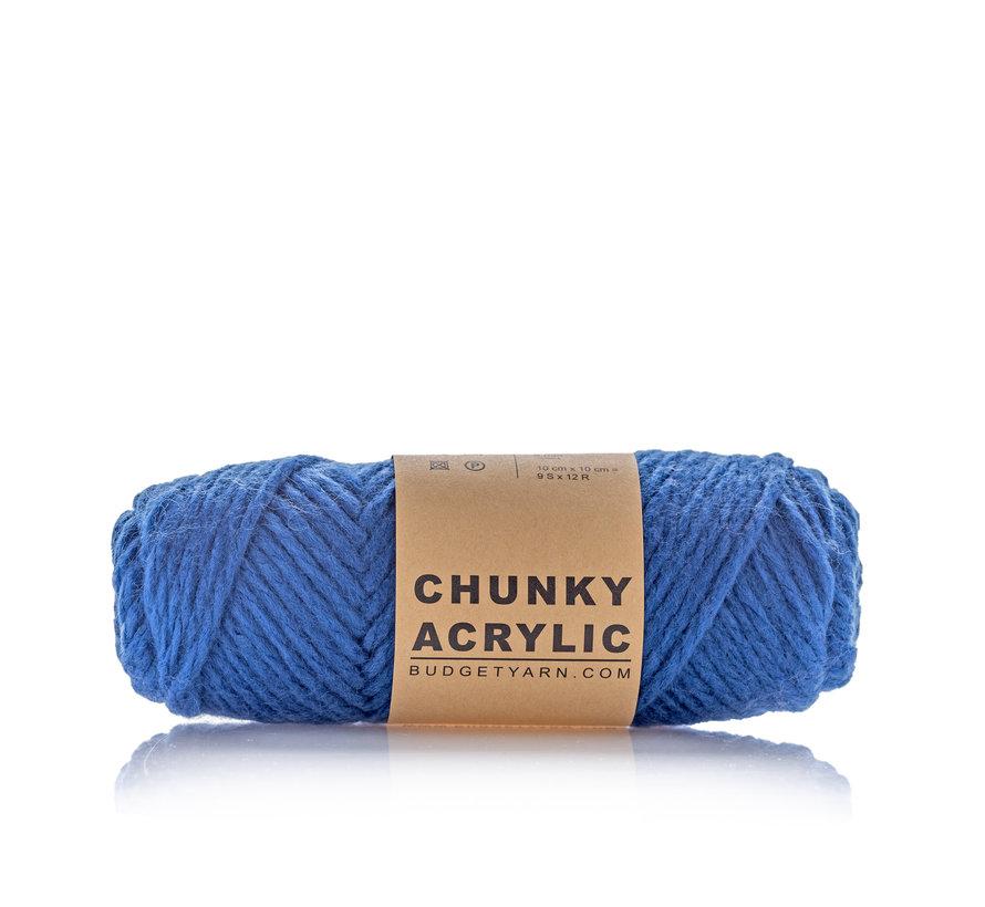 Budget Yarn Chunky Acrylic 060 Kleur: Navy Blue