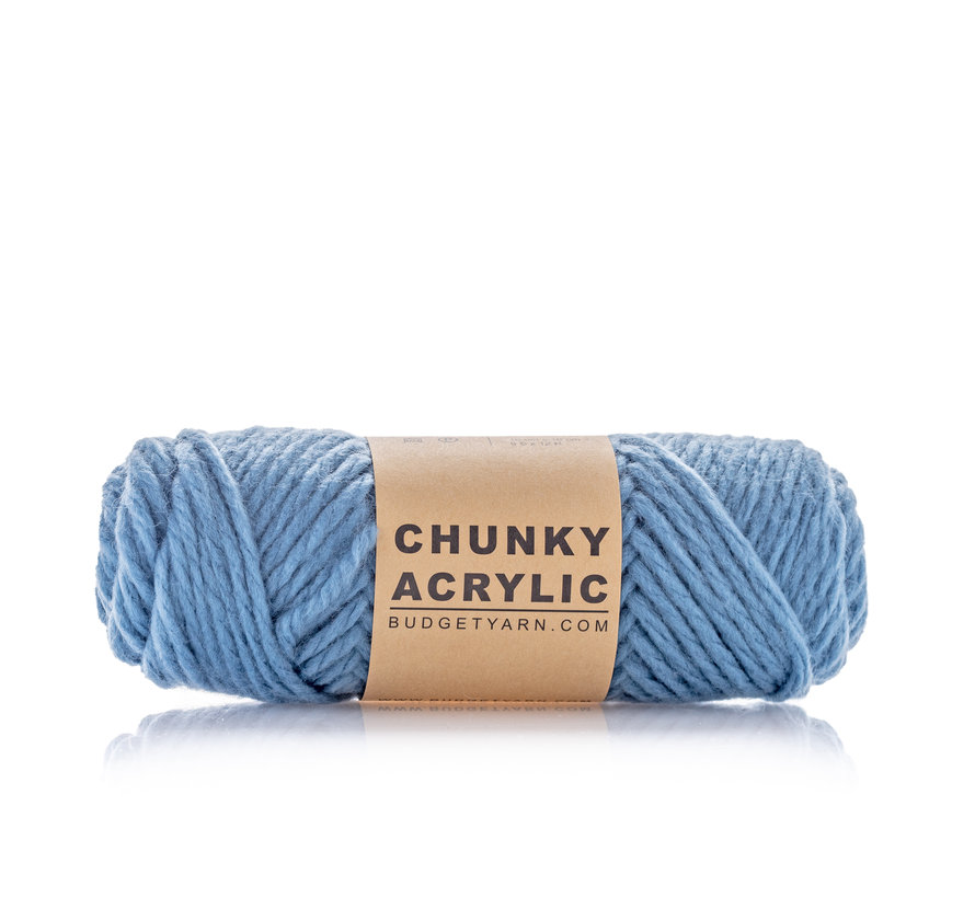 Budget Yarn Chunky Acrylic 061 Kleur: Denim