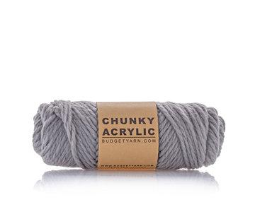 Budget Yarn Budget Yarn Chunky Acrylic 096 Kleur: Shark Grey