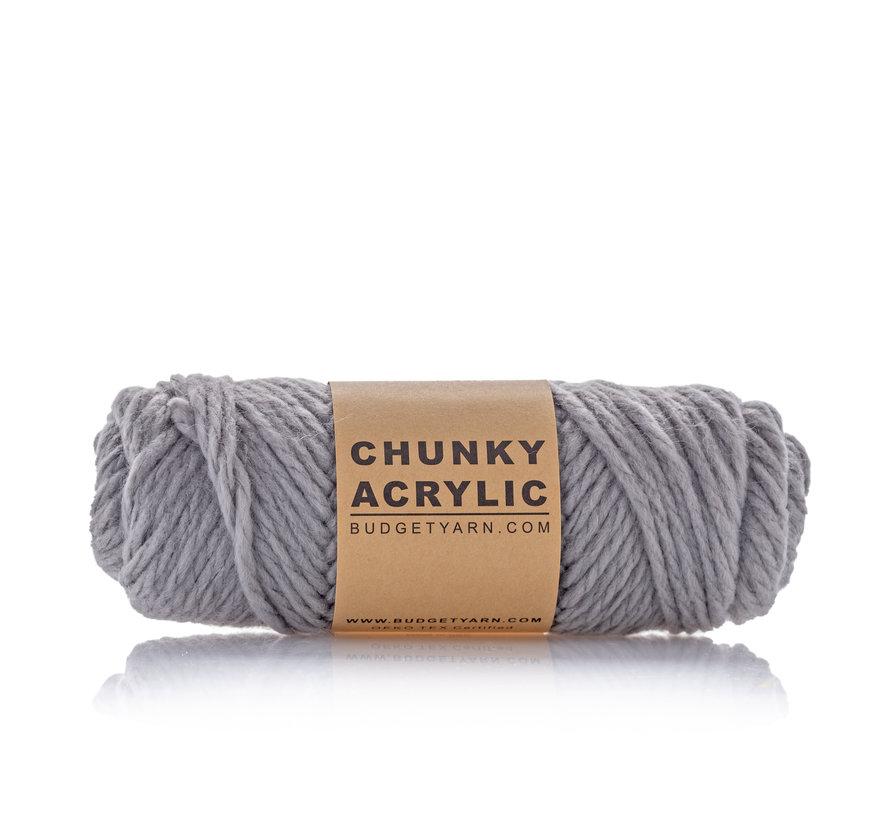 Budget Yarn Chunky Acrylic 096 Kleur: Shark Grey