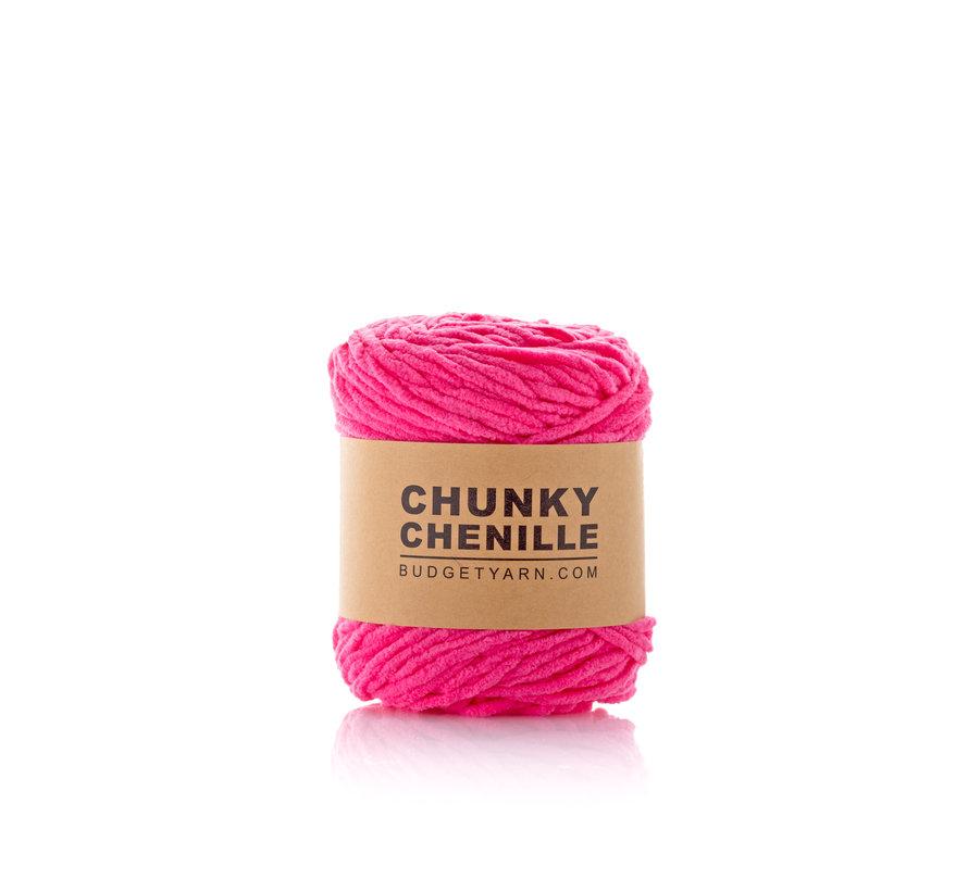 Budget Yarn Chunky Chenille 035 Kleur: Girly Pink
