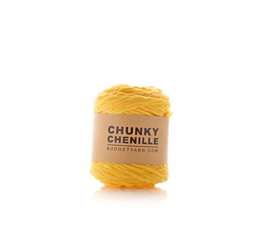 Budget Yarn Budget Yarn Chunky Chenille 013 Kleur: Sunglow