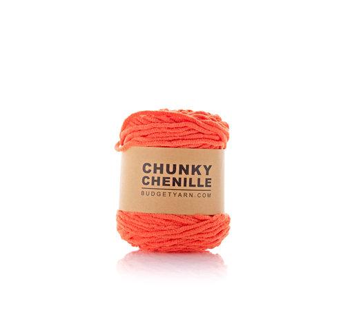 Budget Yarn Budget Yarn Chunky Chenille 021 Kleur: Orange