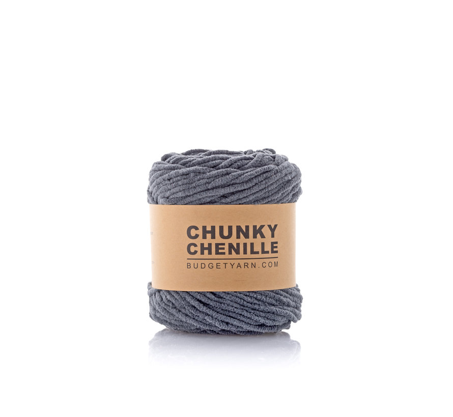 Budget Yarn Chunky Chenille 098 Kleur: Graphite