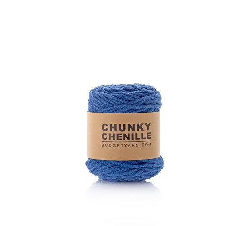 Budget Yarn Budget Yarn Chunky Chenille 060 Kleur: Navy Blue